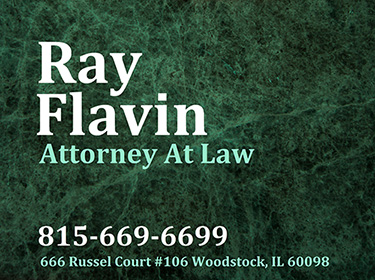 Trial Attorney McHenry County, IL Ray Flavin
